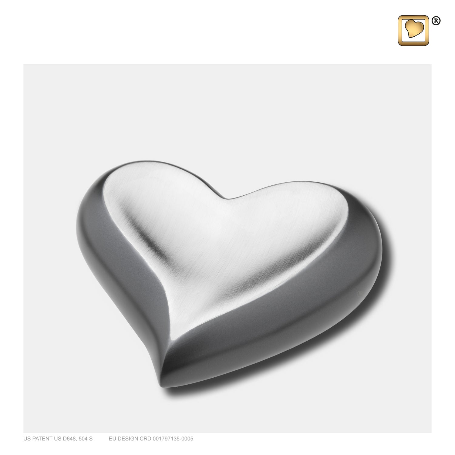 K612 HEART SLATE PEWTER™