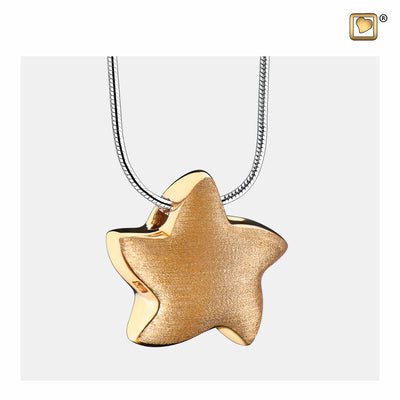 PD1031 PENDANT Angelic Star™ Gold Vermeil Two Tone
