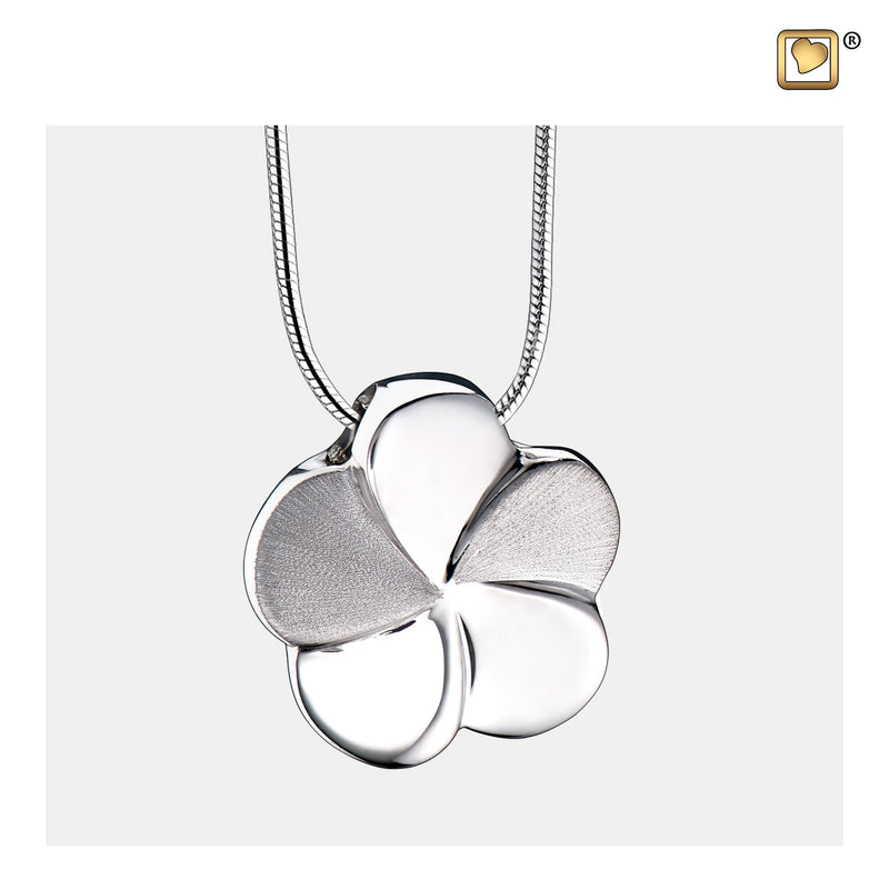 PD1070 PENDANT Bloom™ Rhodium Plated Two Tone