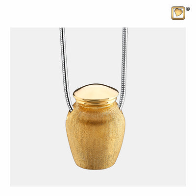 PD1141 PENDANT Urn™ Gold Vermeil Two Tone