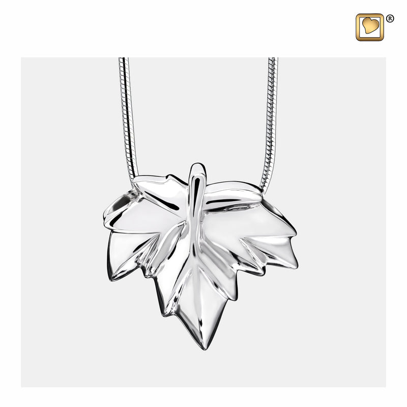 PD1230 PENDANT Autumn Leaf™ Rhodium Plated