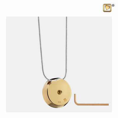 PD1290 PENDANT Mother of Pearl™ Gold Vermeil