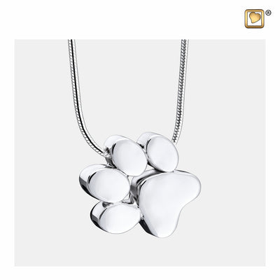 PD1400 PENDANT  Paw™ Rhodium Plated