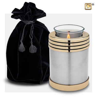 T665 TEALIGHT PEWTER™