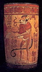 Smoking was prevalent in early Mayan culture