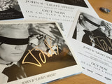 John B - Light Speed - Signed CD, Poster, 2x Flyers & Badge Set with Deluxe Edition Download