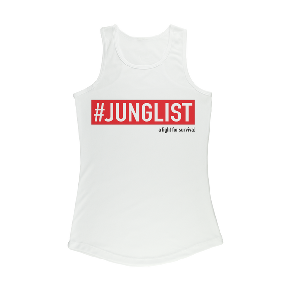 """JUNGLIST"" Women's Performance Tank Top"