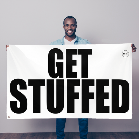GET STUFFED Flag