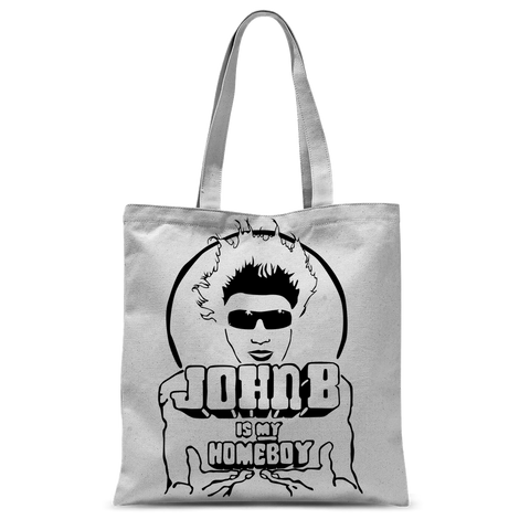 """John B is my Homeboy"" Tote Bag"