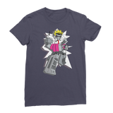 """ROBOT LOVER"" (Colour) Premium Jersey Women's T-Shirt"