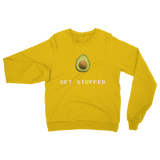 Get Stuffed (Avocado) Classic Adult Sweatshirt
