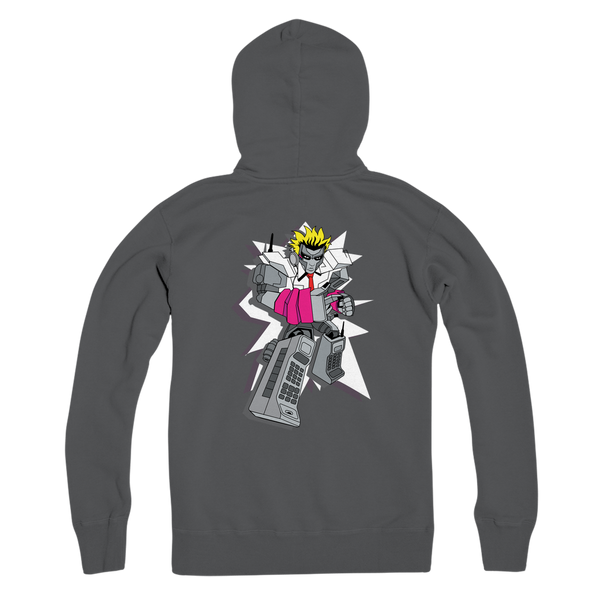 """ROBOT LOVER"" (Colour) Premium Adult Zip Hoodie"