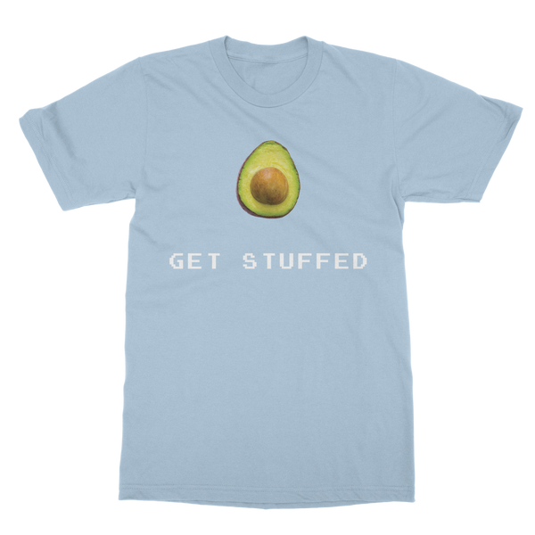 Get Stuffed (Avocado) Classic Adult T-Shirt