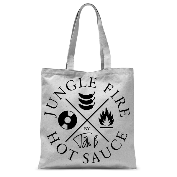 Jungle Fire Tote Bag