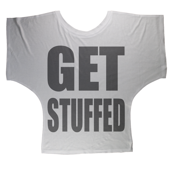 GET STUFFED Sublimation Batwing Top