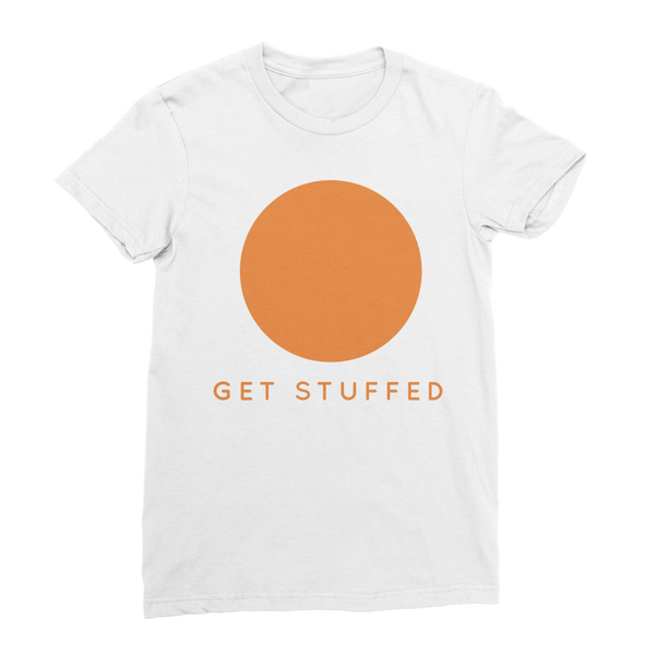 Get Stuffed (focus on your breathing) Classic Women's T-Shirt