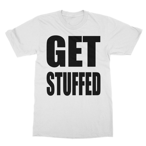 GET STUFFED Classic Adult T-Shirt