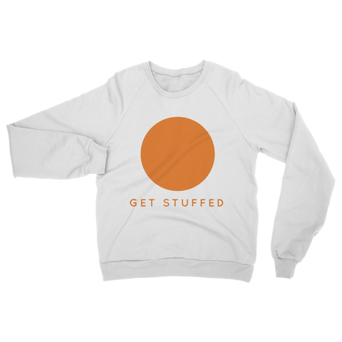 Get Stuffed (Meditate) Classic Adult Sweatshirt