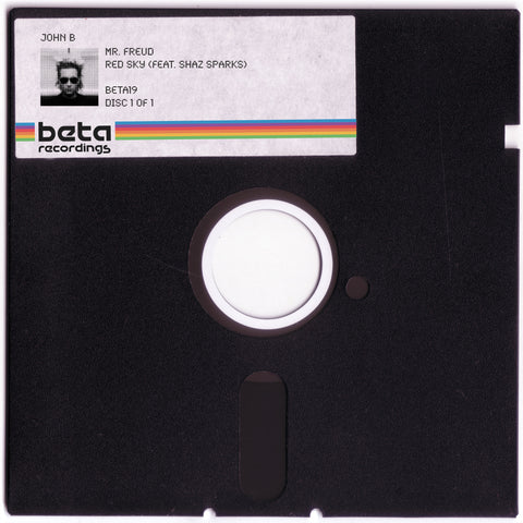 BETA019 - John B ft. Shaz Sparks - Red Sky b/w Mr. Freud (2008)