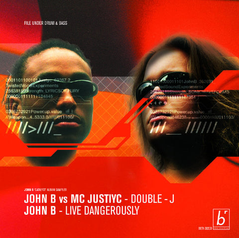 BETA002 - John B vs. MC Justiyc - Double J Pt. 1 b/w Prowler (1999)