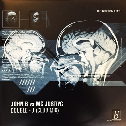 BETA004 - John B vs MC Justiyc - Double J (Club Mix) [2000]