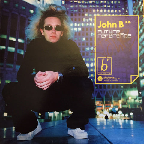 "John B - Future Reference 3x12"" LP [SIGNED] (2001)"