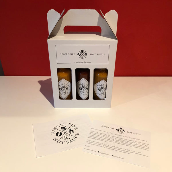 3x BOTTLE GIFT PACK (DRAGON FIRE Version)