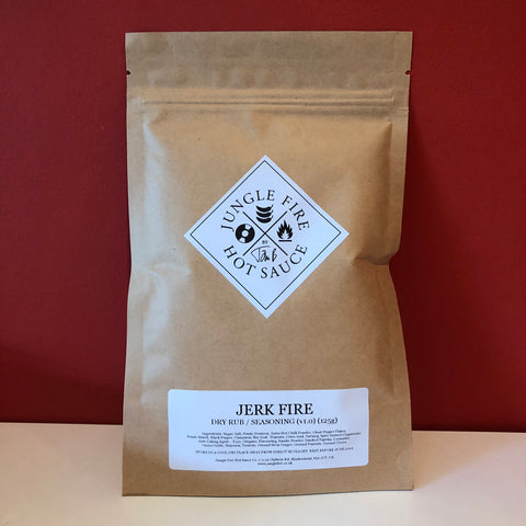 JERK FIRE (v2) - DRY RUB / SEASONING MIX (125g)