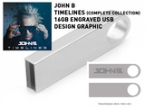LIMITED EDITION 16GB ENGRAVED METAL USB STICK - TIMELINES (1995-2020): The Complete Collection [with mp3 download] (PREORDER)