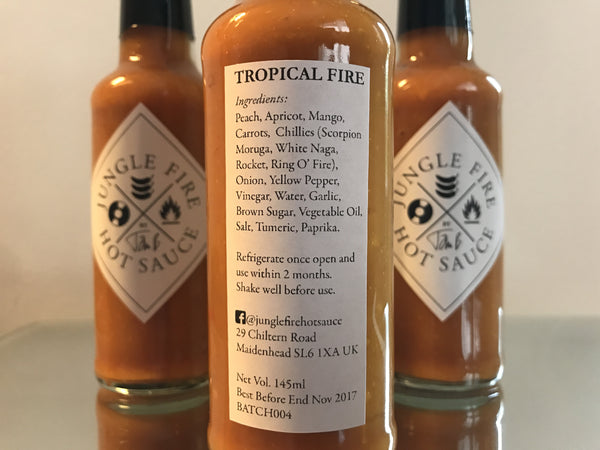 TROPICAL FIRE - JUNGLE FIRE HOT SAUCE 004