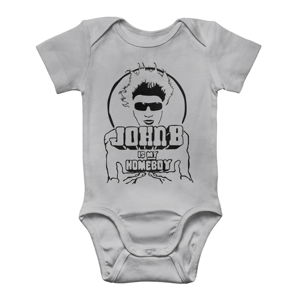 """John B is my Homeboy"" Classic Baby Onesie Bodysuit"