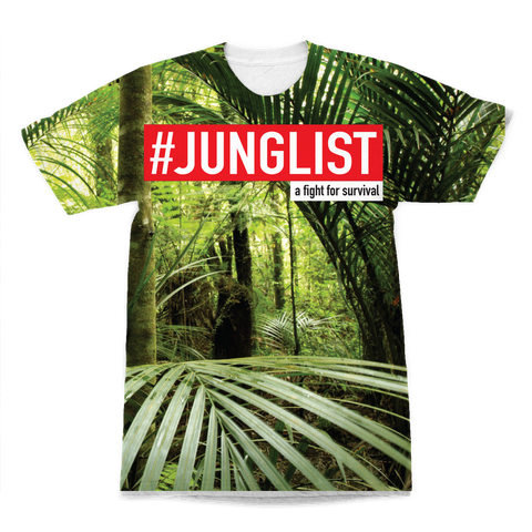 """JUNGLIST"" Premium All-Over Print Adult T-Shirt"