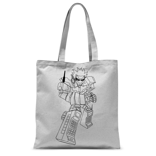 """ROBOT LOVER""  Tote Bag"