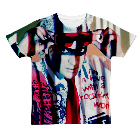 "ALL-OVER PRINT JOHN B T-SHIRT ""ELECTRO-EYES"""