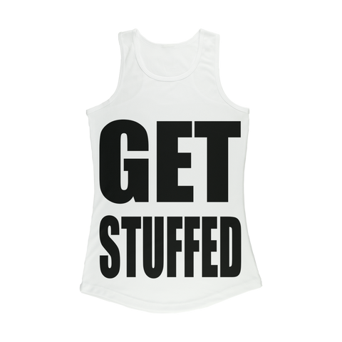 GET STUFFED Women Performance Tank Top