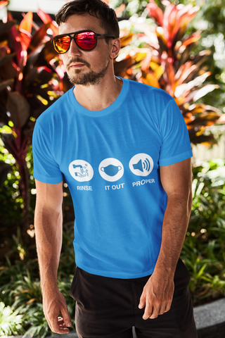 Rinse It Out Proper Premium Jersey Men's T-Shirt