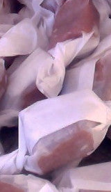 Ginger Bourbon Salted Caramels - One Pound