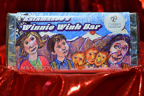 Milk Chocolate -  Winnie Wink Bar