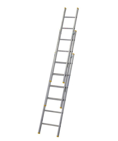 Werner Box Section Aluminium Triple Extension Ladder