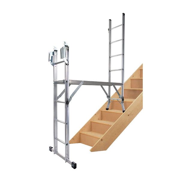 Combination Werner Ladder 5 In 1 With Platform 75005 The