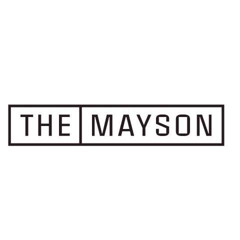 The Mayson Logo Black and White