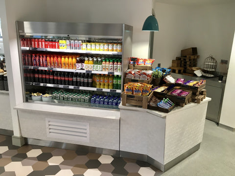 Grab and go counter MSD Canteen, Swords