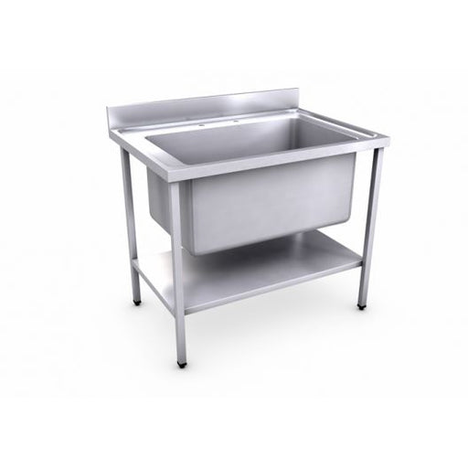 Classic 1000 x 700mm Jumbo Bowl Sink