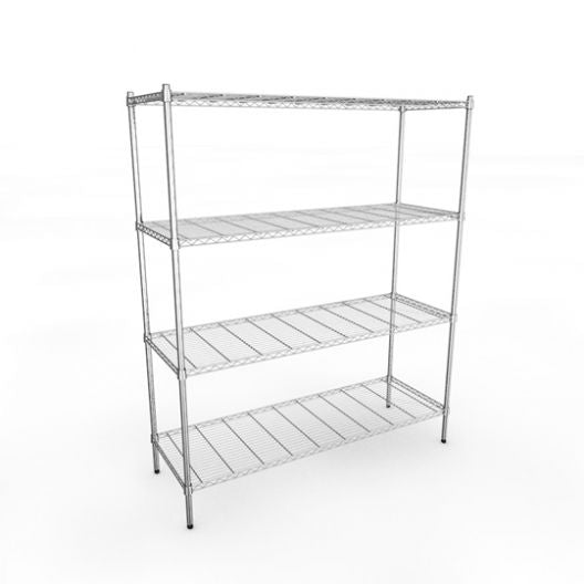 Classic 1520mm Chrome Wire Racking