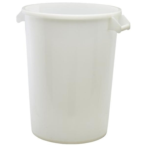 White Polyethylene Ingredient Bin & Lid - Gecko Catering Equipment