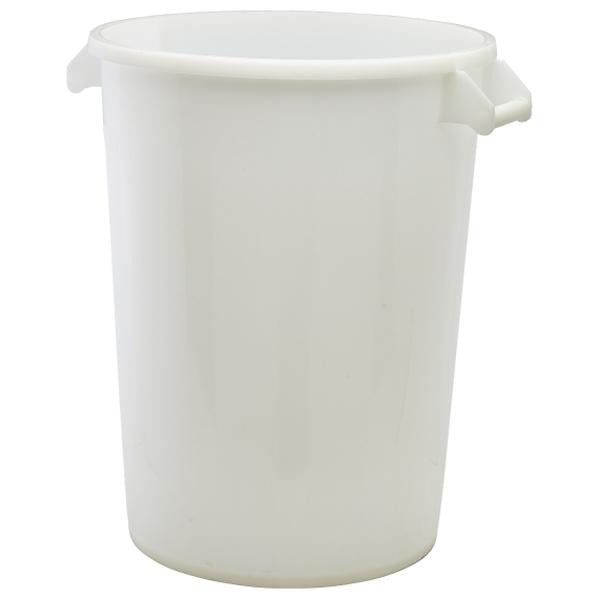 White Polyethylene Ingredient Bin & Lid