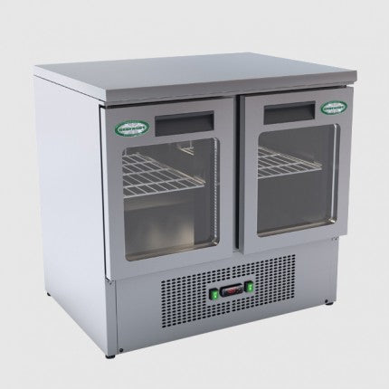 Genfrost G901/GDU 2 Glass Door Saladette