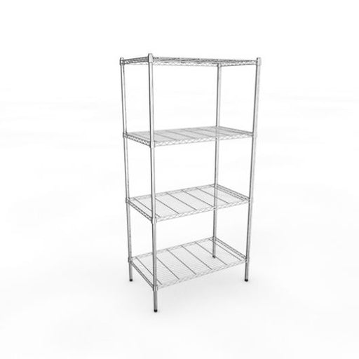 Classic 910mm Stainless Steel Wire Racking