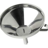 Stainless Steel Funnel with Strainer - Gecko Catering Equipment