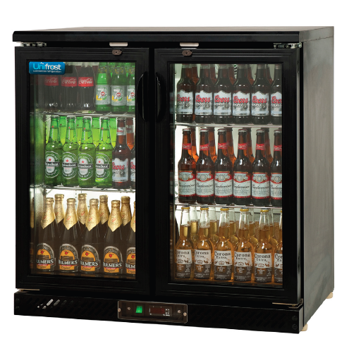 Sliding Two Door Bar Display Cooler